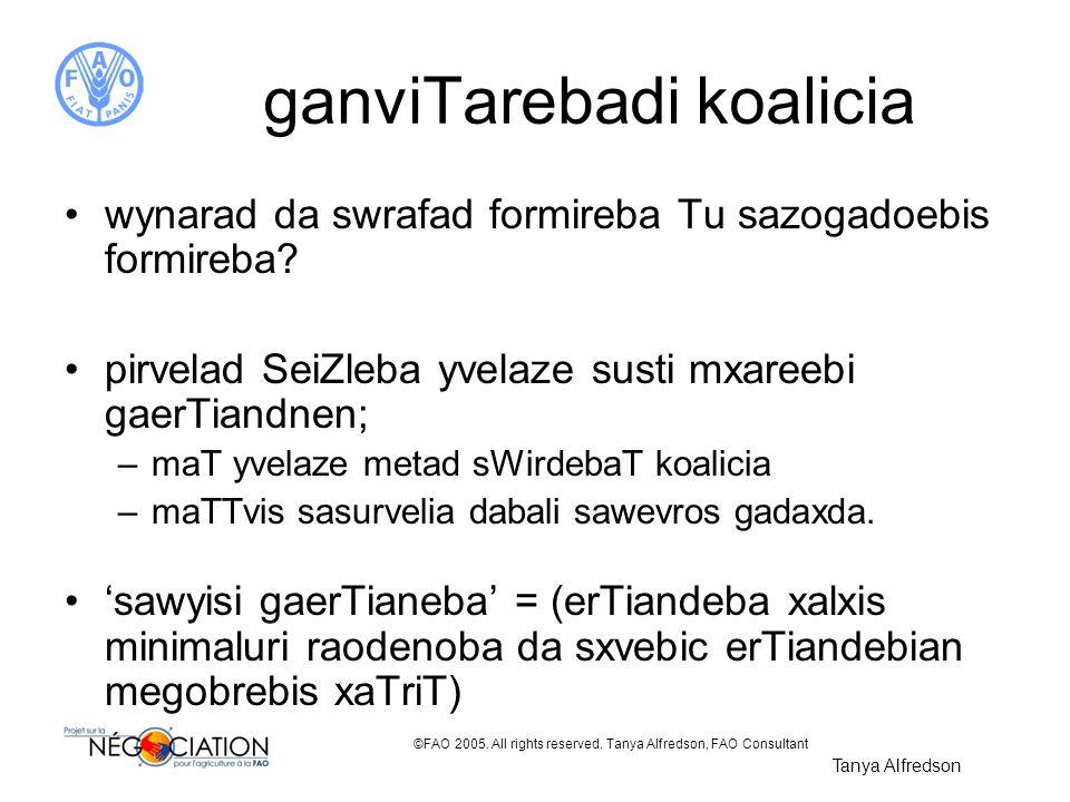 ganviTarebadi koalicia