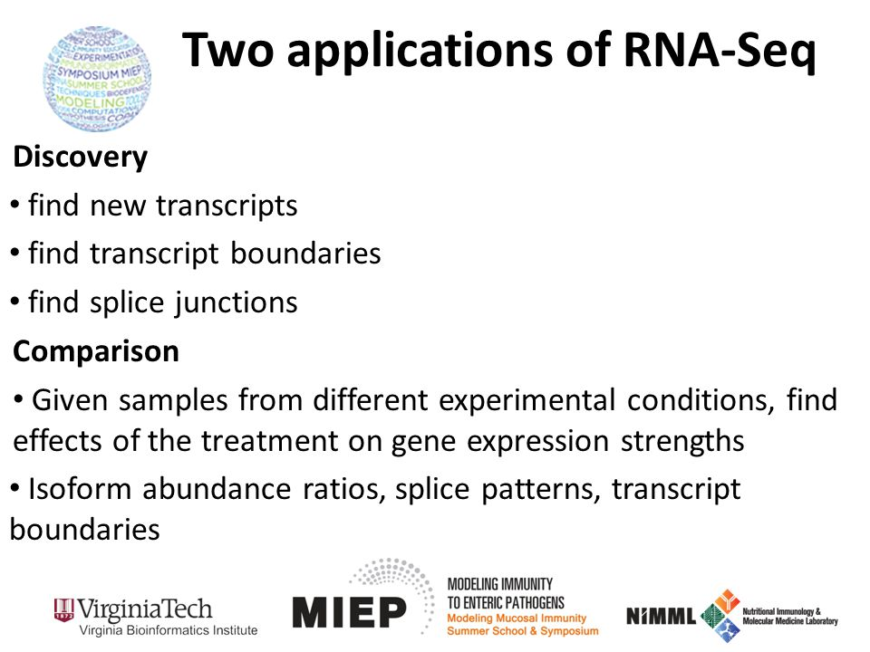 Two applications of RNA-Seq
