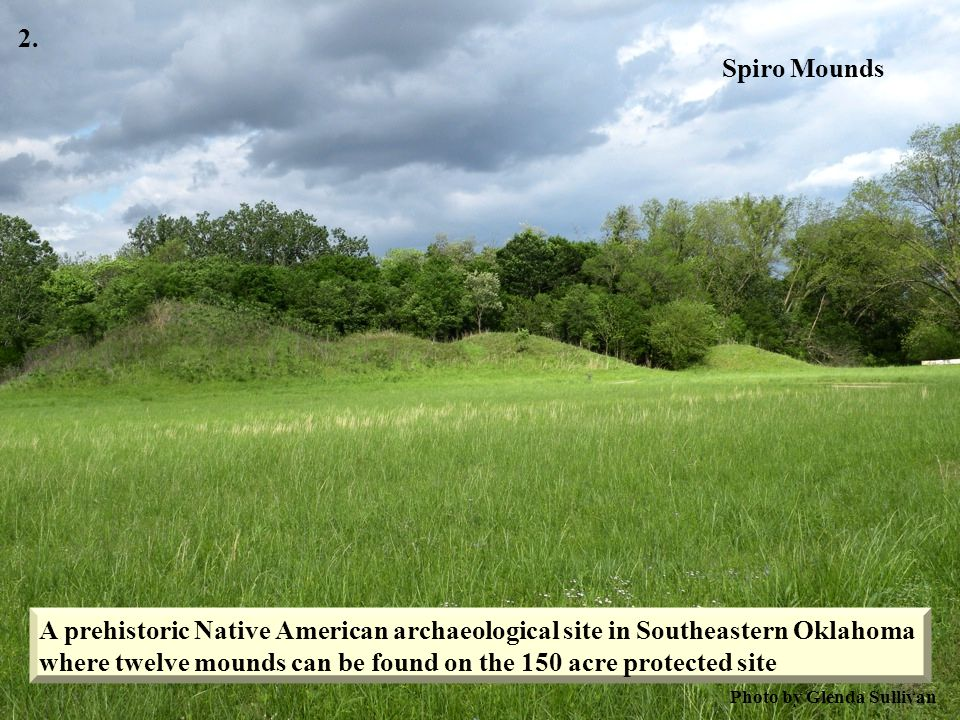 where twelve mounds can be found on the 150 acre protected site
