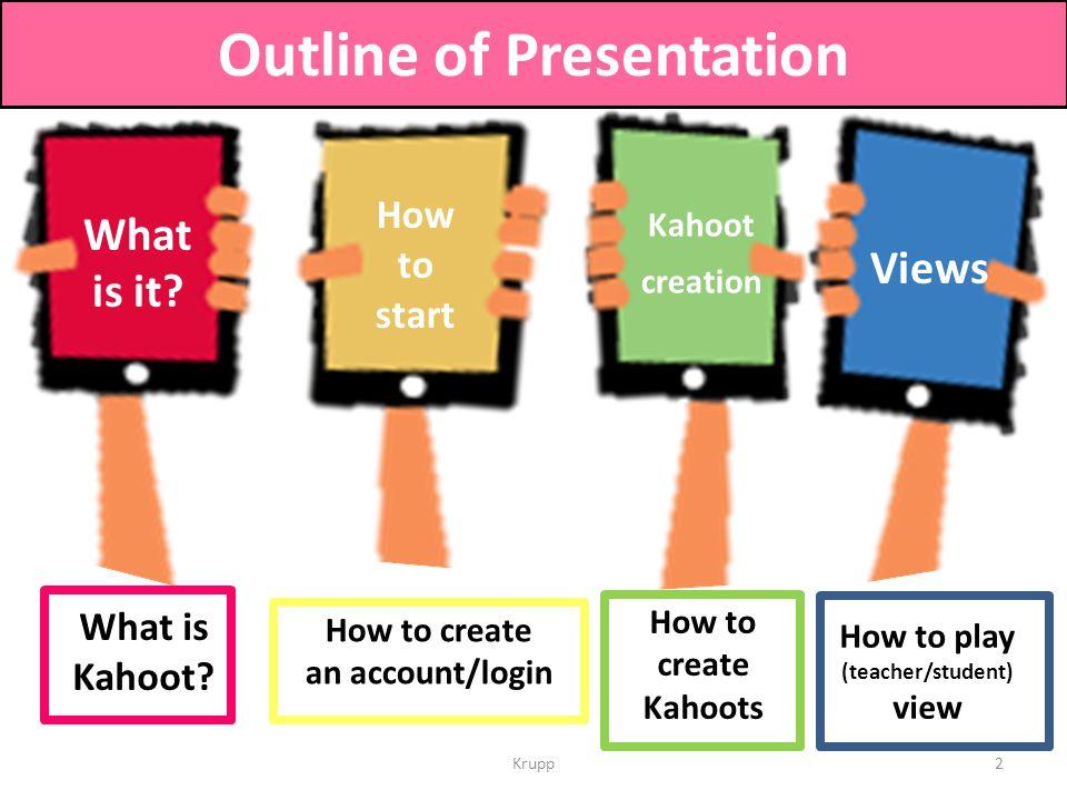 kahoot login for teachers