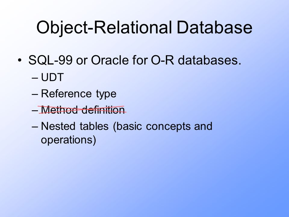 Model clause oracle sql
