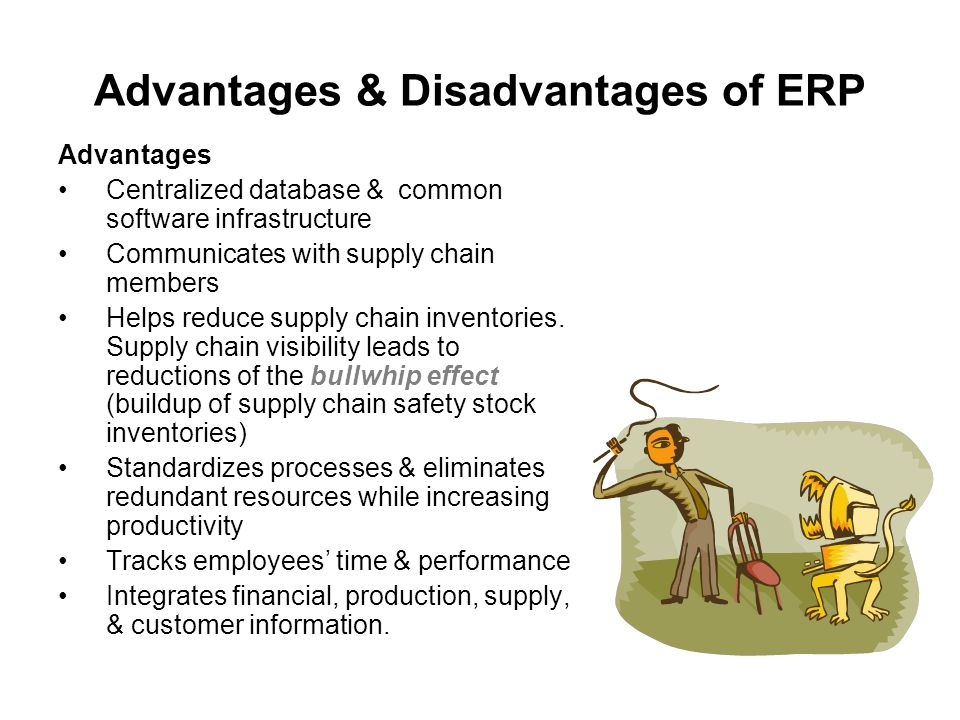 limitations of erp Advantages and disadvantages of using integrated erp systems at trade entities caraiman adrian-cosmin ph d, west university of timisoara, timisoara, romania.