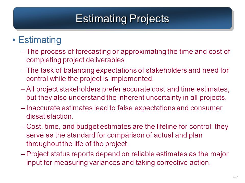 estimating cost control Questions on project cost  control costs estimate  which of the following inputs best conveys this requirement to the cost estimation process so that the.