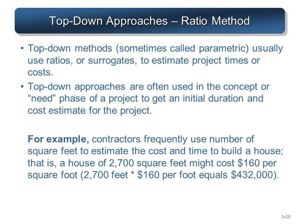Estimating project time and cost ppt download for Estimating building costs per square foot