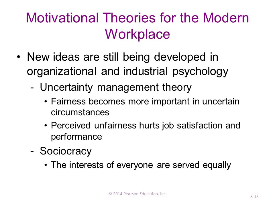 how do the contemporary theories of work motivation complement one another Explain how the contemporary theories of motivation complement each other 8 7 6 5 one basically negative, labeled theory x contemporary theories of.