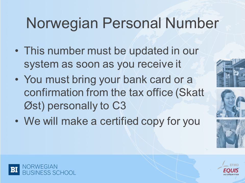 Norwegian Personal Number