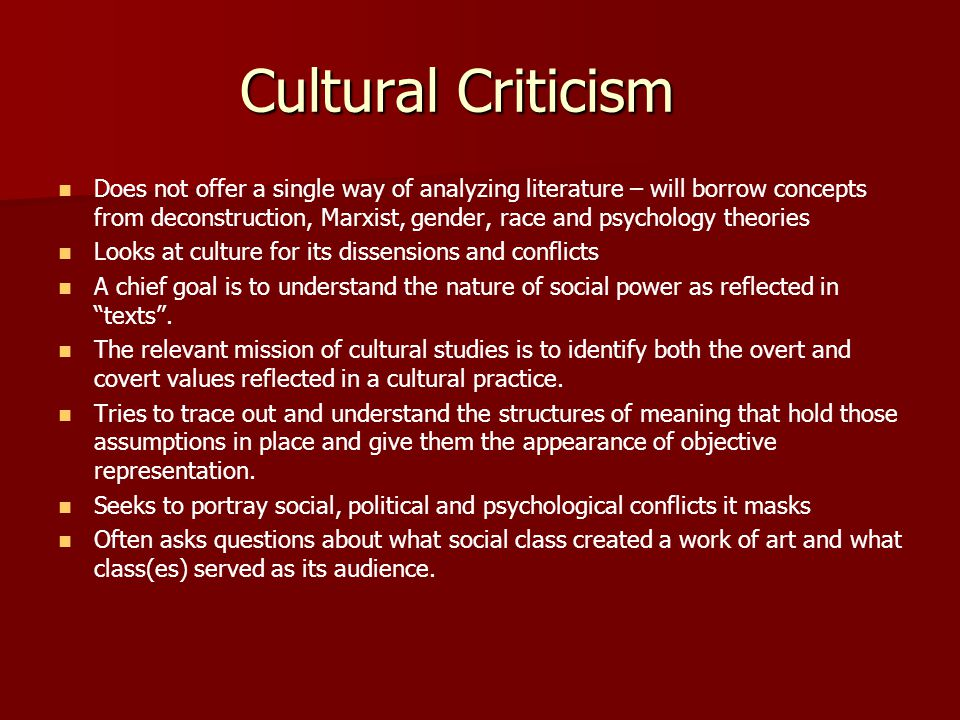 social criticism in literature essay This resource will help you begin the process of understanding literary theory and schools of criticism and how they are used in the academy a very basic way of thinking about literary theory is that these ideas act as different lenses critics use to view and talk about art, literature, and even.