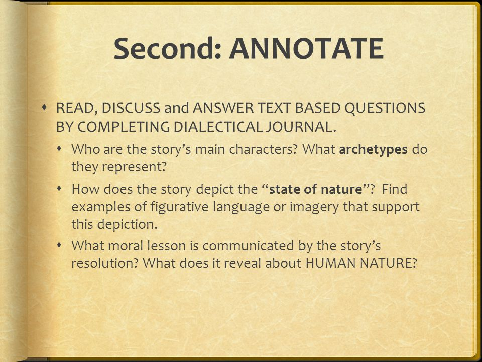 what does annotating an essay mean Documenting sources does the documentation refer to the last sentence the whole paragraph part of a paragraph so you also need to show where the source's.