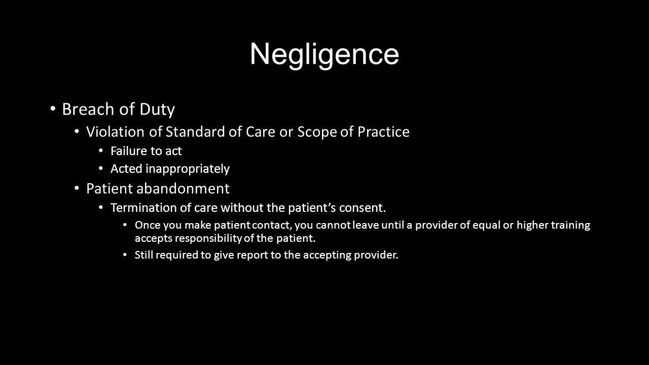 negligence tort and legal duty Duty: a duty of care is sometimes imposed by statute, and does not arise from a relationship between the claimant (the person injured) and the defendant.