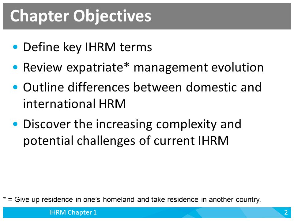 challenges of ihrm International human resource management and national cultural challenges osman eroğlu abstract a number of researchers have investigated the role of and importance of national culture on international.