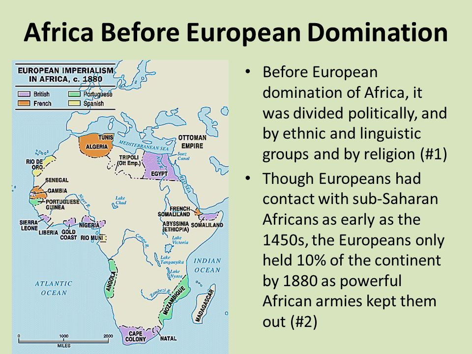 africa Before European Domination J L by Patricia Bliss