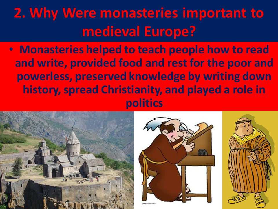 the role of christianity in europe Special role plays personality of  monasticism in southern and central europe first christian monasteries in this region followed  here christianity.