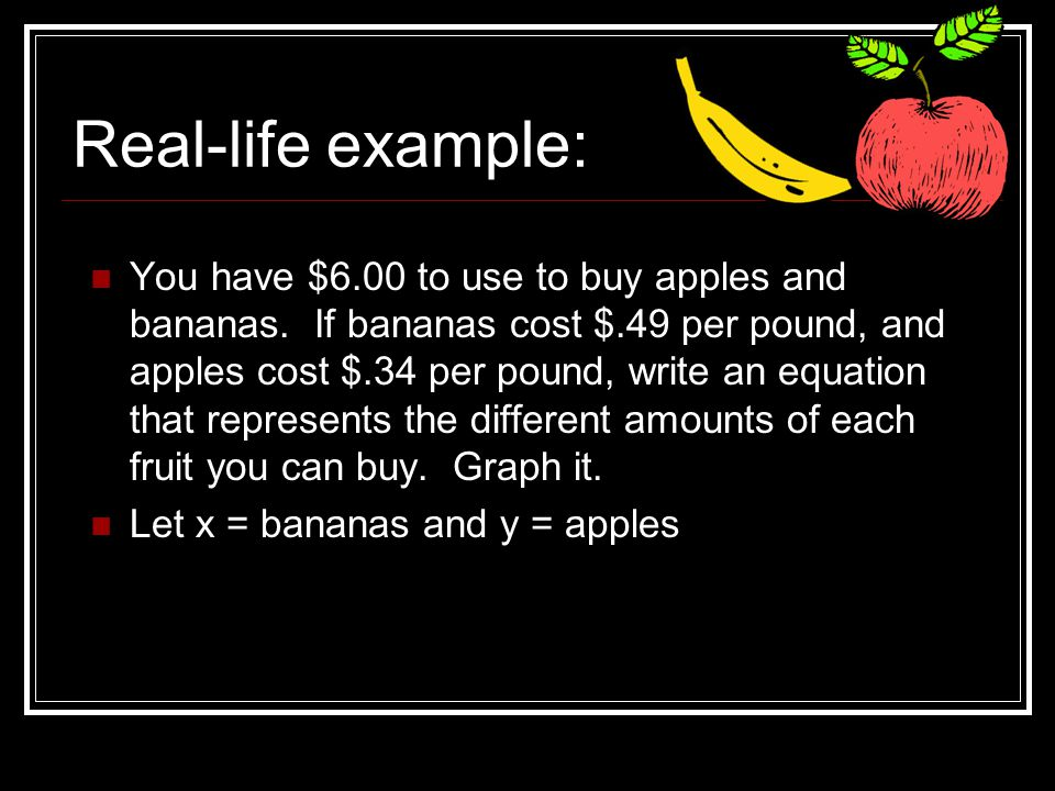 5.5 Standard Form of a Linear Equation - ppt download
