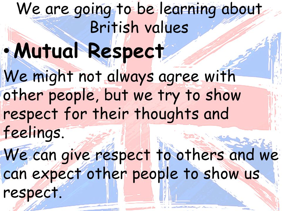 showing respect to others