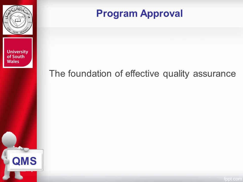 The foundation of effective quality assurance