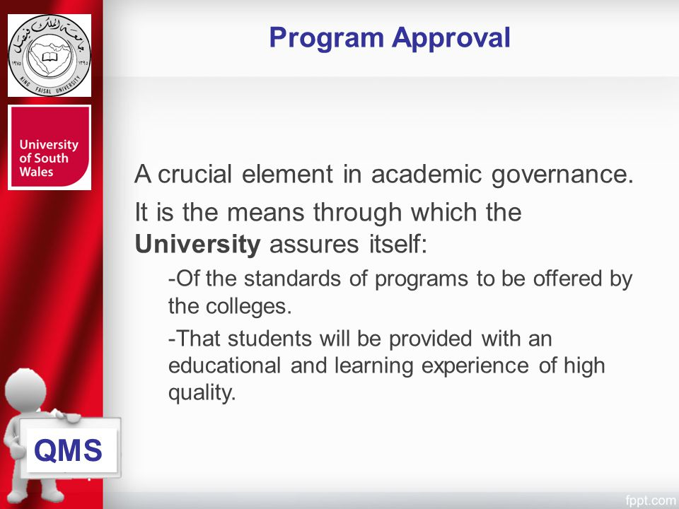 QMS Program Approval A crucial element in academic governance.