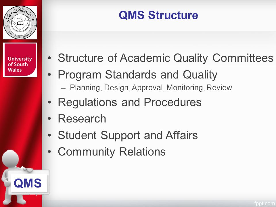 QMS QMS Structure Structure of Academic Quality Committees