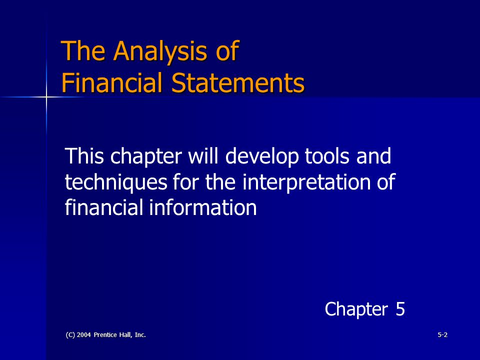 chapter 04 14analysis of financial statements Quizlet provides financial statement analysis chapter 14 activities, flashcards and games start learning today for free.