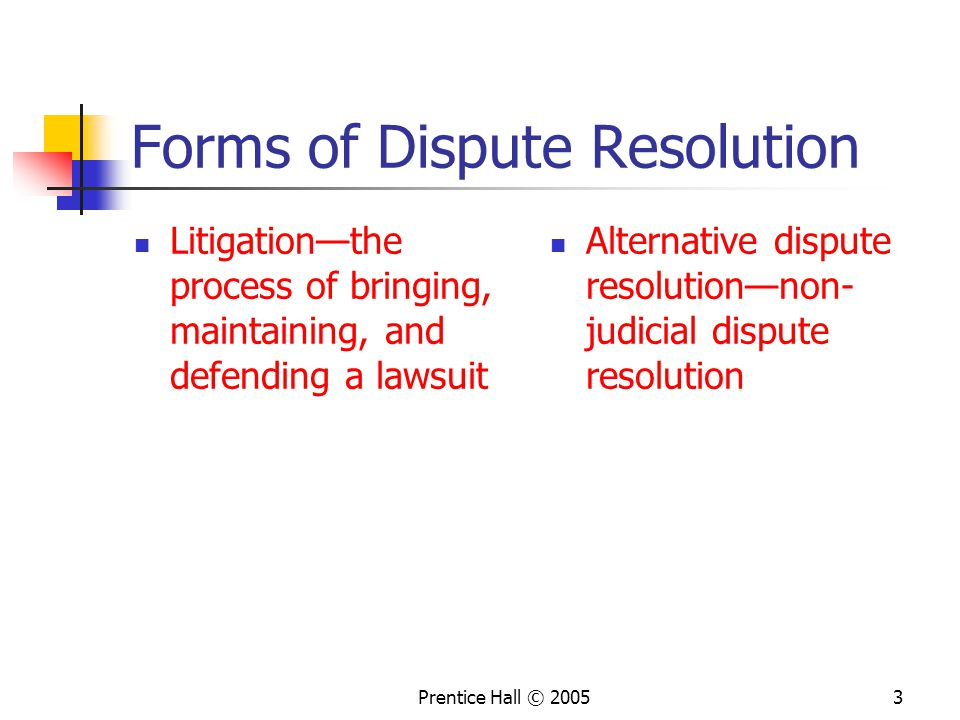 The Different Types of Alternative Dispute Resolution