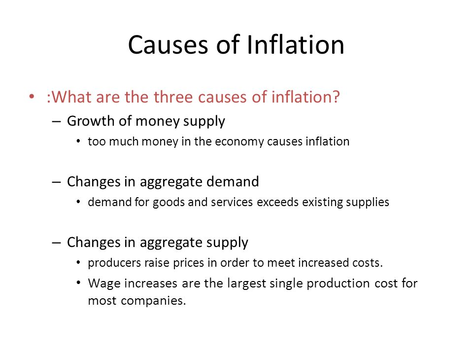 the causes and costs of the uk inflation The cost for companies to provide medical care to staff continues to outpace inflation in  in the uk, medical costs are set  what the top 3 causes were of.