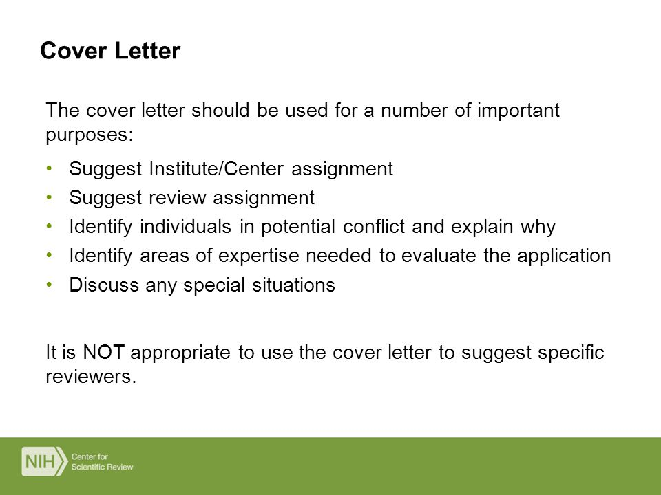 How To Suggest Reviewers In Cover Letter