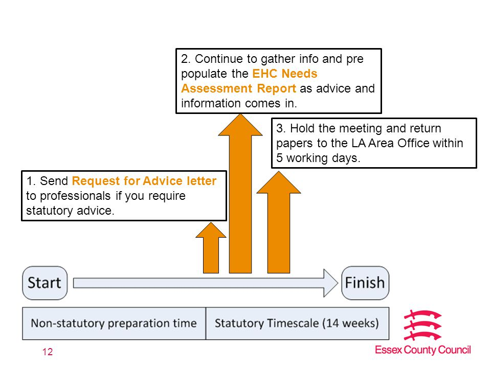 Continue To Gather Info And Pre Populate The EHC Needs Assessment Report As Advice