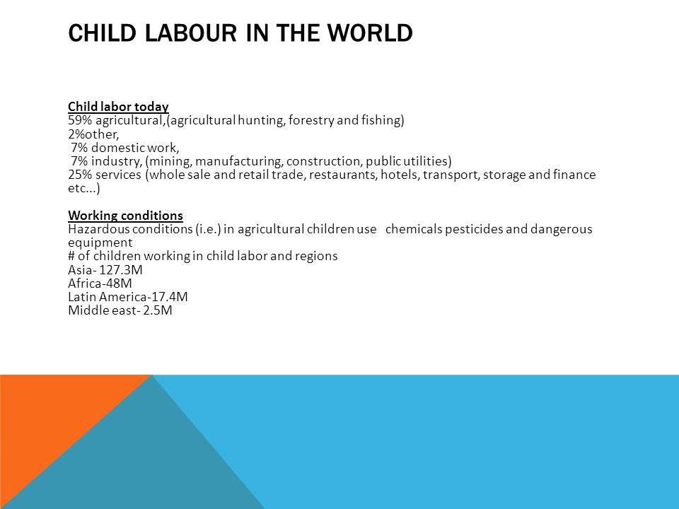 child labour in the world today essays Child labor in the world economy, by glenn perusek, new  if the global phenomenon of child labor appears today as a ubiquitous feature of economic life,.