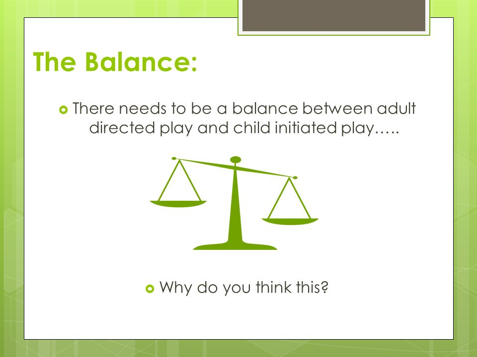 is there a balance between the Finding a suitable balance between work and daily living is a challenge that all   it easier for parents to strike a better balance between work and home life.