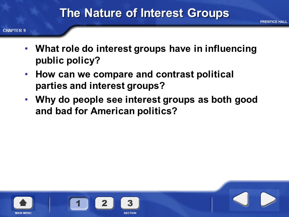 The Nature of Interest Groups - ppt video online download