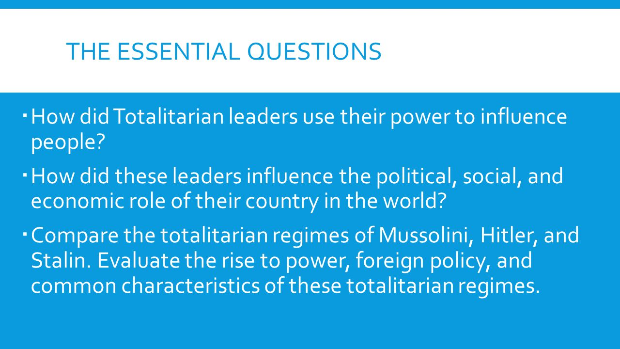 how were mussolini stalin and hitler s rise to power similar Comparing hitler and stalin in their rise to power the men were adolph hitler and joseph stalin in conclusion, hitler and stalin were similar in many way in their rise to power, however three reasons stand out the most.