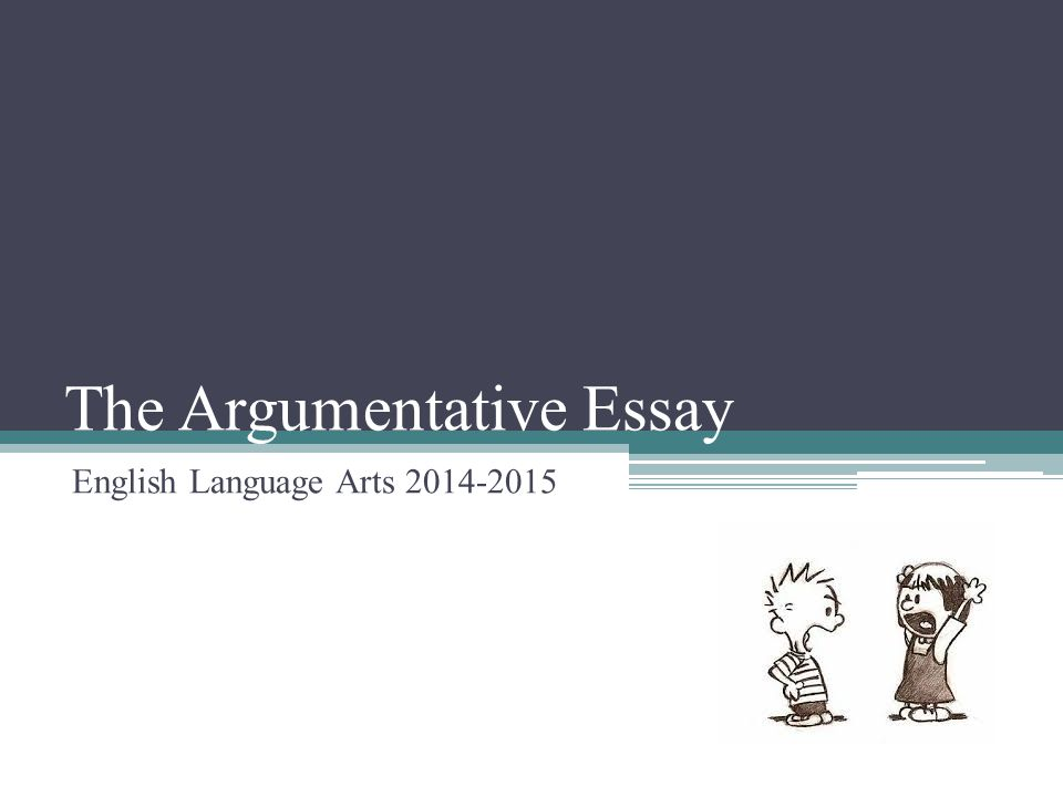 Write my argumentative composition