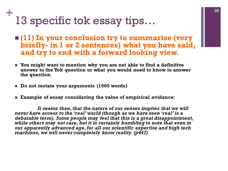 How to Write an Effective Conclusion Paragraph?