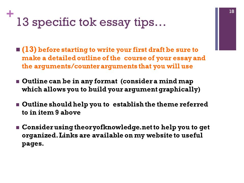 outlining essay tips