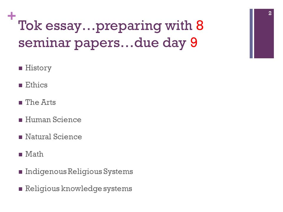 tok essay tips Write a powerful essay learn the tips and tricks of writing a good tok essay our latest tips & tricks: common examples to avoid which aok which wok.