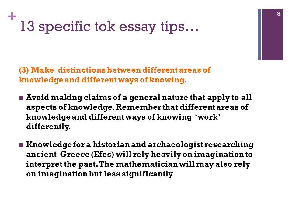 tok sample essays