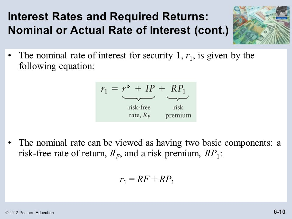 how to calculate nominal rate of return on a bond