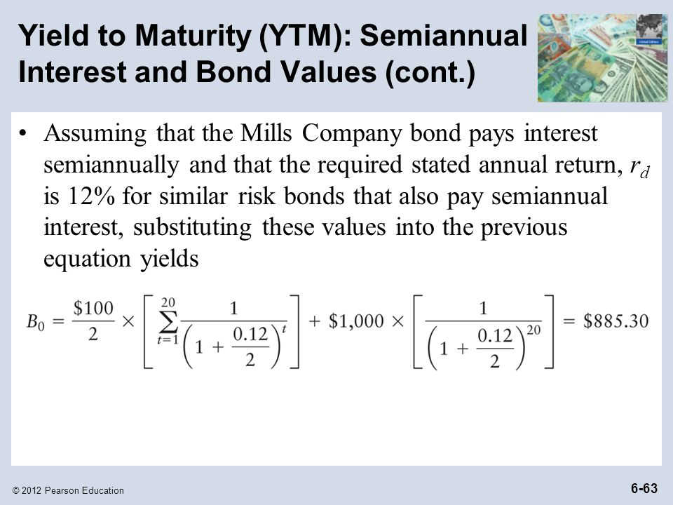 download effective annual yield to maturity