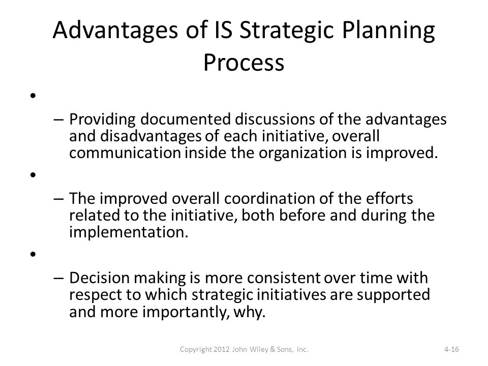 disadvantages of strategic planning pdf