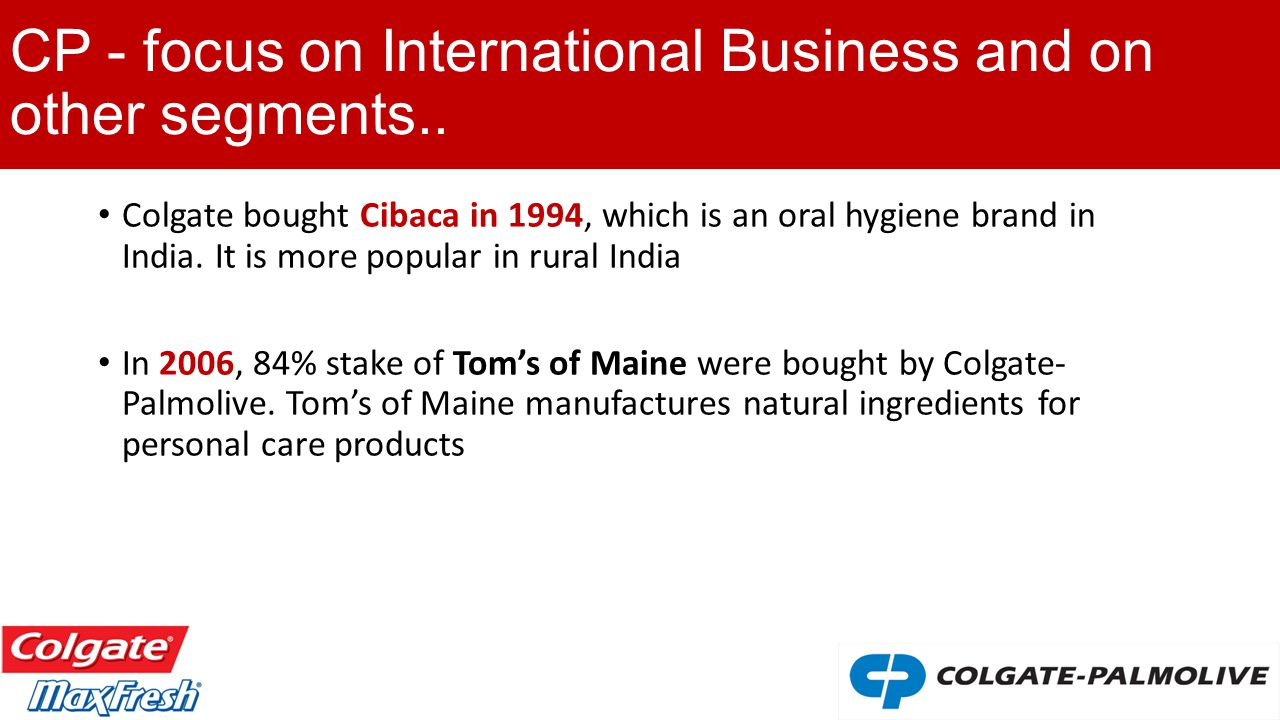 A Strategic Analysis of Colgate´s toothpaste product line