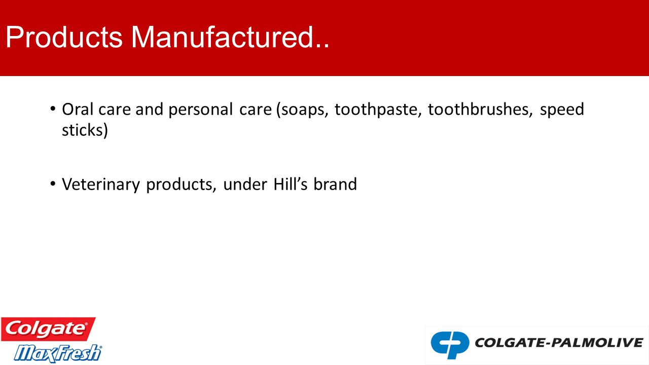 colgate max fresh global brand Colgate max fresh: global brand roll-out nigel burton, the president of global oral care at colgate-palmolive company (cp), is reviewing market launch plans for a new toothpaste, colgate max fresh (cmf) by cp's chinese and mexican subsidiaries.