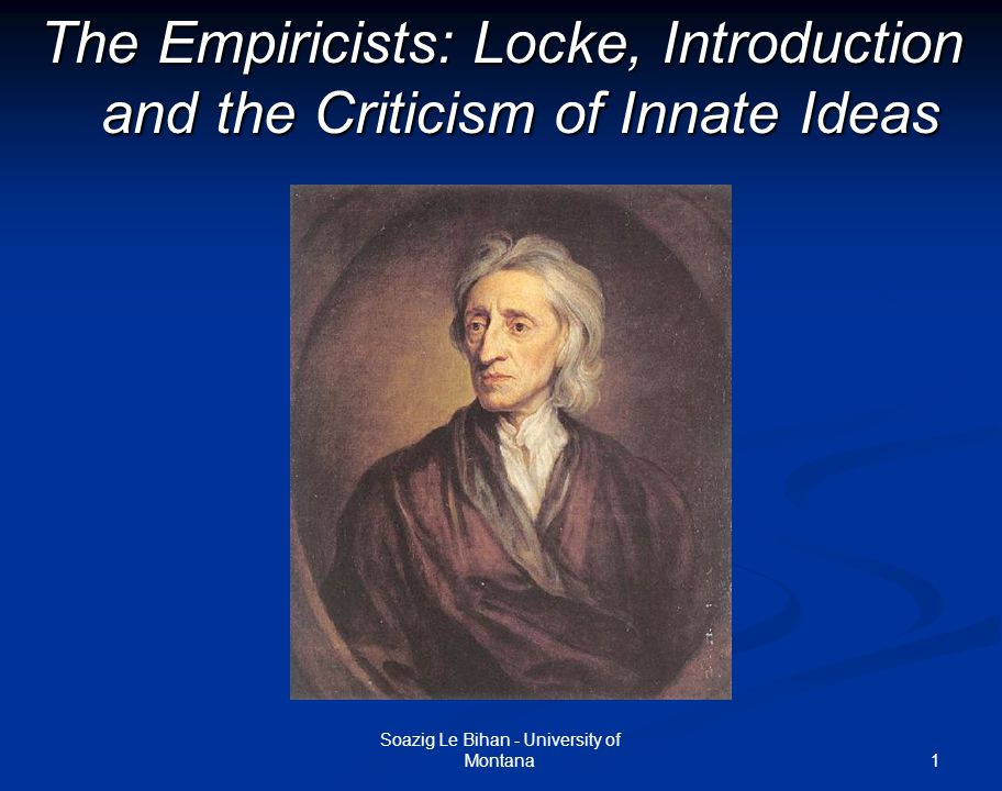 rene descates and john locke The slate is not empty: descartes and locke on innate ideas rené descartes and john locke, two of the principal philosophers who shaped modern.