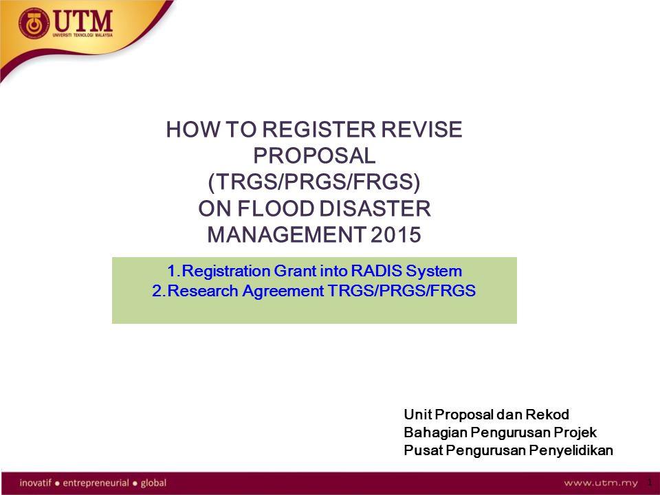 How To Register Revise Proposal Trgsprgsfrgs Ppt Video Online