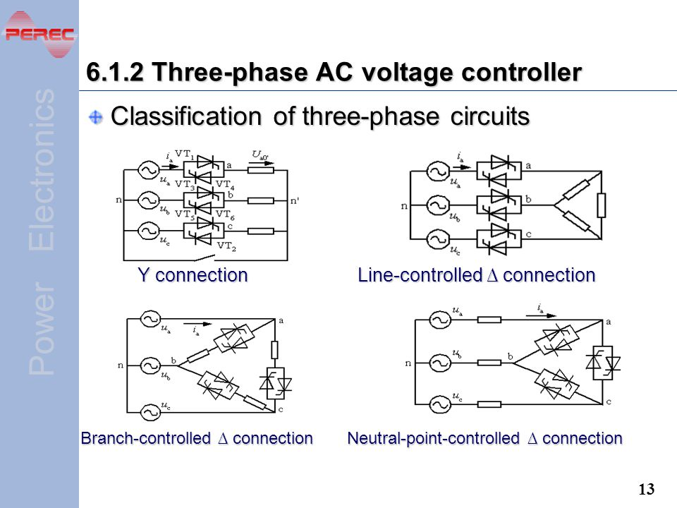 6.1.2 Three-phase AC voltage controller