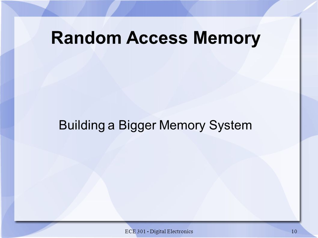 Building a Bigger Memory System