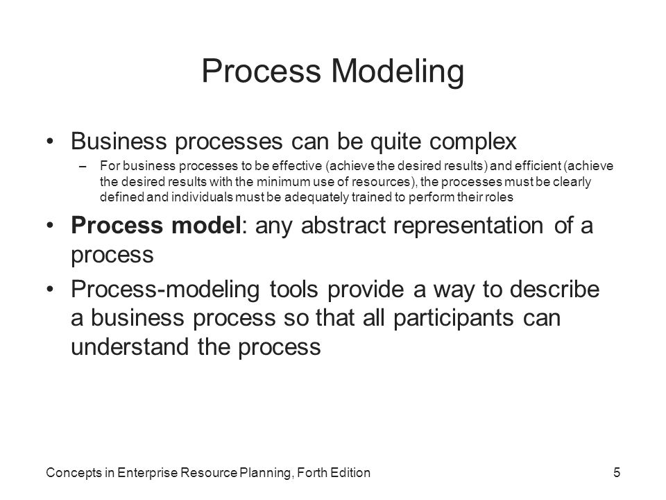 Process Modeling Business processes can be quite complex