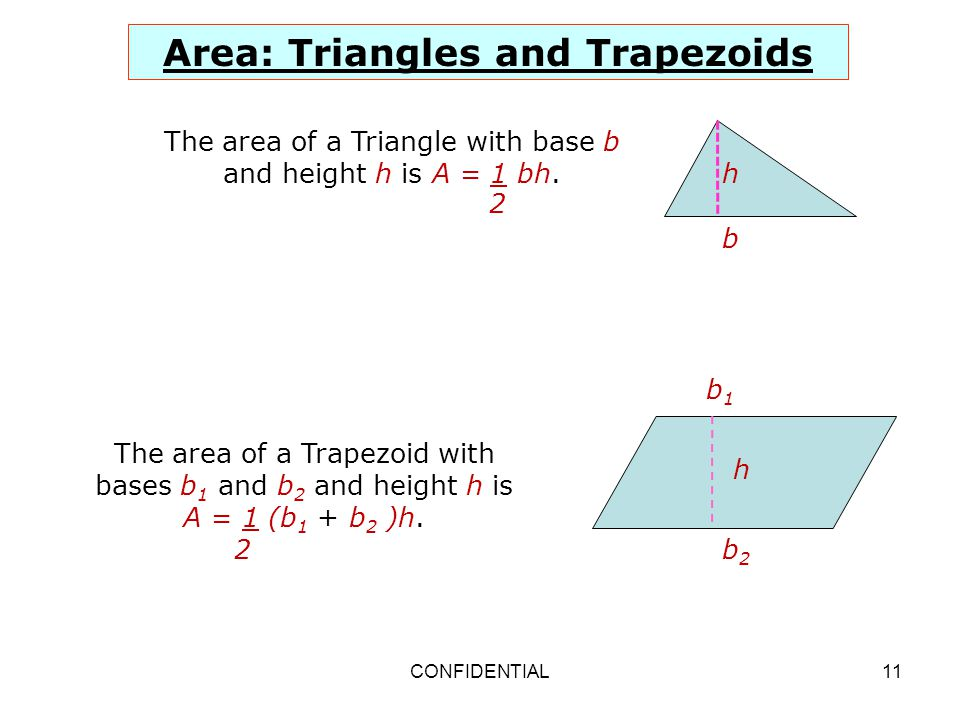 Developing Formulas for Triangles and Quadrilaterals ppt download – Area of Triangles and Trapezoids Worksheet