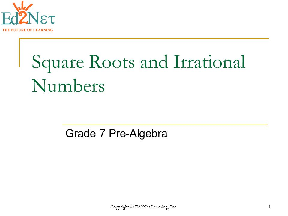 Square Roots and Irrational Numbers ppt video online download – Square Root Worksheet