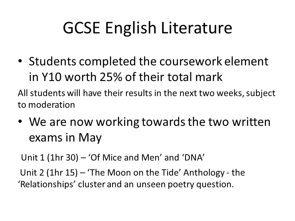 as english literature coursework help