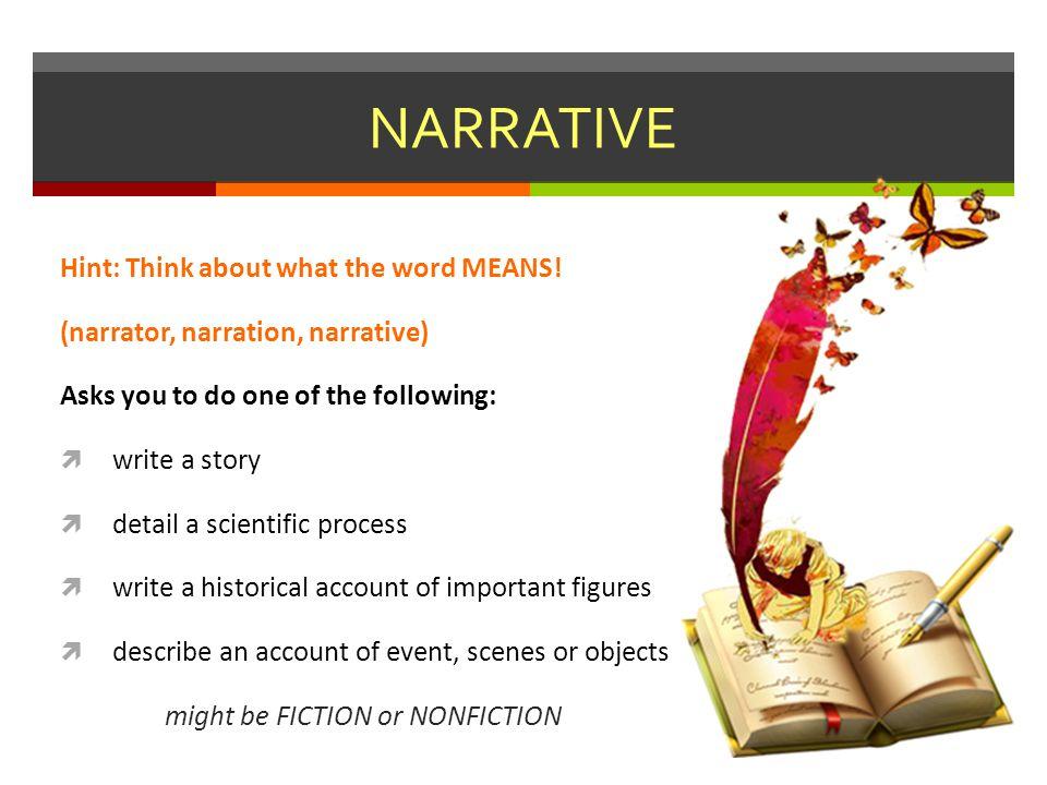 historical narrative writing