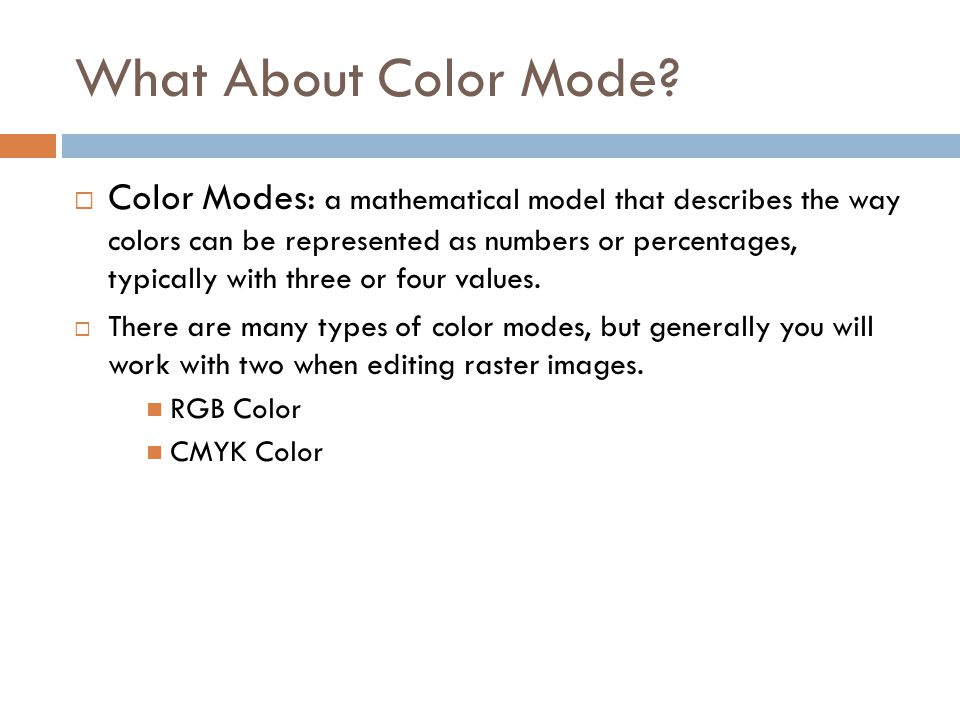 What About Color Mode